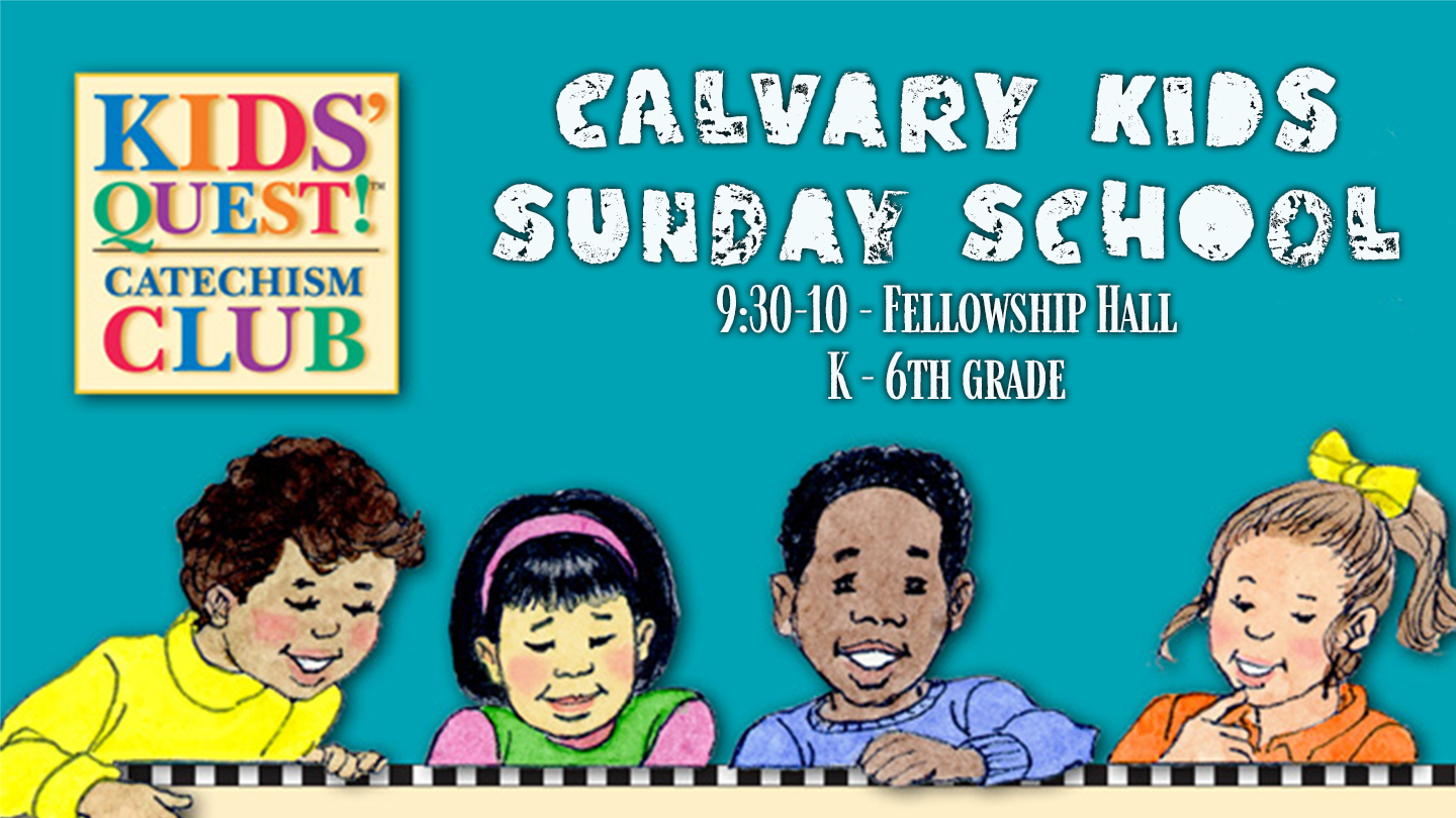Calvary Kids Sunday School